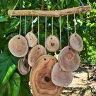 Silent Wind Chime Mobile, Holz Windspiel, natürliche Holz Mobile, Holz Wandbehang, einzigartige Windspiel, Boho Glockenspiel