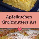 Apfelkuchen Großmutters Art - Chefnickrecipes