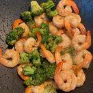 [Homemade] Shrimp and broccoli