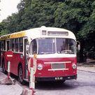 Wien WVB Schienen-Ersatzverkehr für die Strassenbahnlinie 62 ab 25. Feber bis September 1974. Auf dem Foto hält der Autobus am 16. Juli 1974 in der ...
