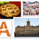30/07/13 This #TulipTuesday more facts about this land we currently call home; 1. The soil means that much of Amsterdam is built on stilts. The Royal Palace rests on 13,659 wooden poles, Central Station 8,687. 2. The first known recipe for the famous Dutch apple pie first appeared in Een notabel boecxken van cokeryen (a Dutch cookbook) in 1514. 3. The First Herring of the season may have only just been consumed, but a total of 12 million Kilograms of herring are eaten in NL each year.