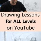 Professional Drawing Instructors on YouTube