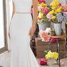 SIMPLE WEDDING DRESSES FOR ELEGANT BRIDES
