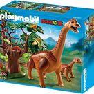 Goedkoop  Playmobil Brachiosaurus met jong - 5231  kopen bij