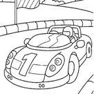 Kids-n-Fun | Malvorlage Auto Auto