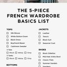 5 Basics Later, and You're Practically French