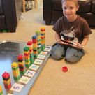 Two Preschool Math Activities with Duplo Legos   Frugal Fun For Boys and Girls