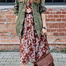 Olive green utility jackets | HOWTOWEAR Fashion