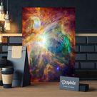 Metal Poster The Cosmic Cloud Orion Nebula