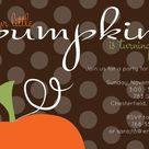 Little Pumpkin Party