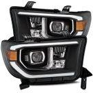 Toyota Tundra 2007-2013 Black LED Projector Headlights DRL Activation