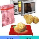 1PC Reusable Jacket Potato Microwave Cooker Bag 4 Minutes Express Cooking Tool