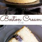 Boston Cream Pie   Liv for Cake