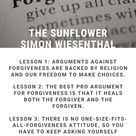 The Sunflower Summary