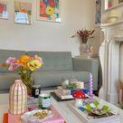 Home Interior Decor Pastel