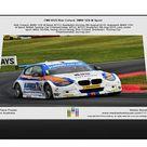 CM9 8125 Rob Collard, BMW 125i M Sport. 1000 Piece Puzzle. Rob Collard, BMW 125i M Sport, BTCC Snetterton Sunday 9th August 2015, Autosport, BMW 125i.