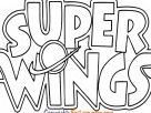 Super Wings Logo Coloring in Pages to print - Free Kids Coloring Pages Printable
