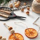 MY DIY   Dried Orange Ornaments & Garland - I SPY DIY