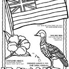 Free & Printable Hawaii Coloring Picture, Assignment Sheets Pictures for Child | Parentune.com