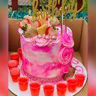 Custom Birthday Celebration Cake