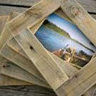 Pallet Photo Frames