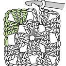 The Humble Granny Square - Renate Kirkpatrick's Freeform Crochet~Knit~Fibre Designs