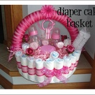 Diaper Cake Basket