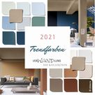 Trendfarbe 2021, Wohntrend, Farbe des Jahres 2021