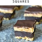 Brownie Batter Peanut Butter Squares
