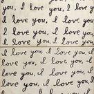 Darling I Love You Reclaimed Wood Art Print Wall Art - Top - 36x36