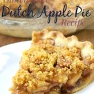 Gluten-Free Dutch Apple Pie | The Frugal Farm Wife