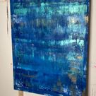 Abstract Acrylic Painting | No 2020/3 | by Simone Braun Art Studio | Canvas Painting