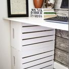 DIY Wood Crate Up-cycle Ideas and Projects