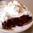 A Slice of Chocolate Pie