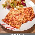 Low Carb Pizza vom Blech - Schüttelpizza Rezept zum Abnehmen