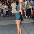 Hot Celebrity Style Bandage Full-Length Zipper Front Party Dress