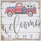 Welcome Home Truck Wall Art by Sincere Surroundings - QVC.com