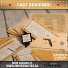 Boarding Pass Wedding Invitation for a Destination Wedding | Airline Ticket Wedding Invitations, Handmade & Customizable