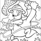 Kleurplaat Donald Duck 35