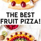 Easy Fresh Fruit Pizza