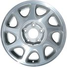 16 X 6.5 Reconditioned OEM Aluminum Alloy Wheel, Charcoal, Fits 1997 2000 Buick Regal, Gray