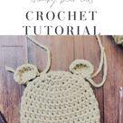 Bear Ears Crochet Tutorial - ChristaCoDesign