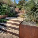 Stützmauer im Garten: 84 Ideen für Hangsicherung und Gartenmauer
