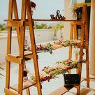Farmhouse Decor  Double Ladder Shelf  6 ft  Wood Ladder  A   Etsy