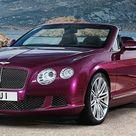2014 Bentley Continental GT Speed Convertible Front 3/4 Angle View   egmCarTech