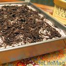 Oreo Poke Cakes