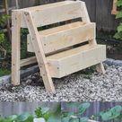 DIY Tiered Strawberry Planter | Vertical Planter Box for Your Garden