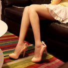 Peach Shoes