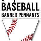 Free Printable Baseball Banner {baseball party decorations} | Paper Trail Design