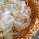 Cheddar and Ritz Cracker Vidalia Onion Pie Turnips 2 Tangerines